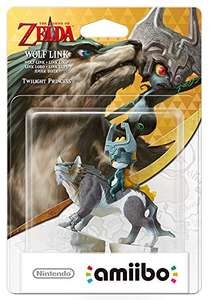 Wolf Link amiibo (Nintendo Wii U/Nintendo 3DS/Nintendo Switch) £12.99 - amazon.co.uk