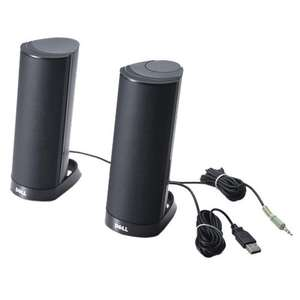 Dell AX210CR portable speakers £3.70 prime / £8.44 non prime @ Amazon