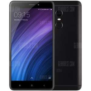 Xiaomi Redmi Note 4 4G Phablet - 3GB - 32GB, Black - GLOBAL VERSION - £110.30 @ Gearbest (with code)