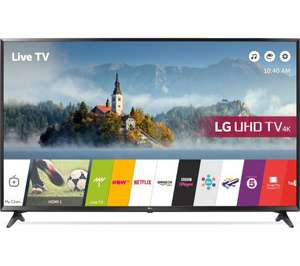 "LG 65UJ630V 65"" Smart 4K Ultra HD HDR LED TV Amazon Prime Day £1039"