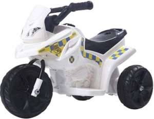 Electric Ride On 6v Police Bike £25 @ Tesco Direct (Free C+C)