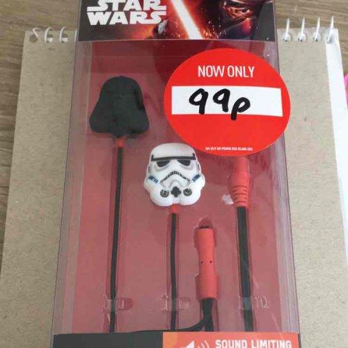 Star Wars Earphones 99p GAME  Lichfield