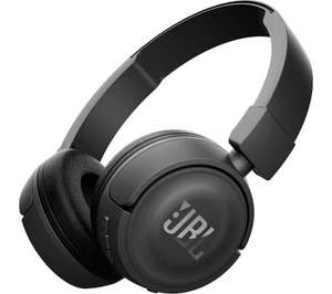 JBL T450BT wireless Bluetooth headphones £26.99 with code from Currys PC World (normally £39.99)