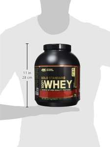 Optimum nutrition gold standard Whey 2.27kg £25.99 @ Amazon Prime
