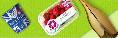 Prosecco, Strawberries and Cream £4 @ Amazon Fresh