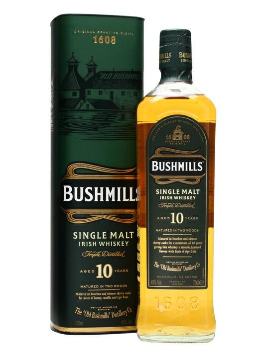 Bushmills 10yr Old Single Malt Irish Whiskey £20 (Amazon Prime Day Deal)