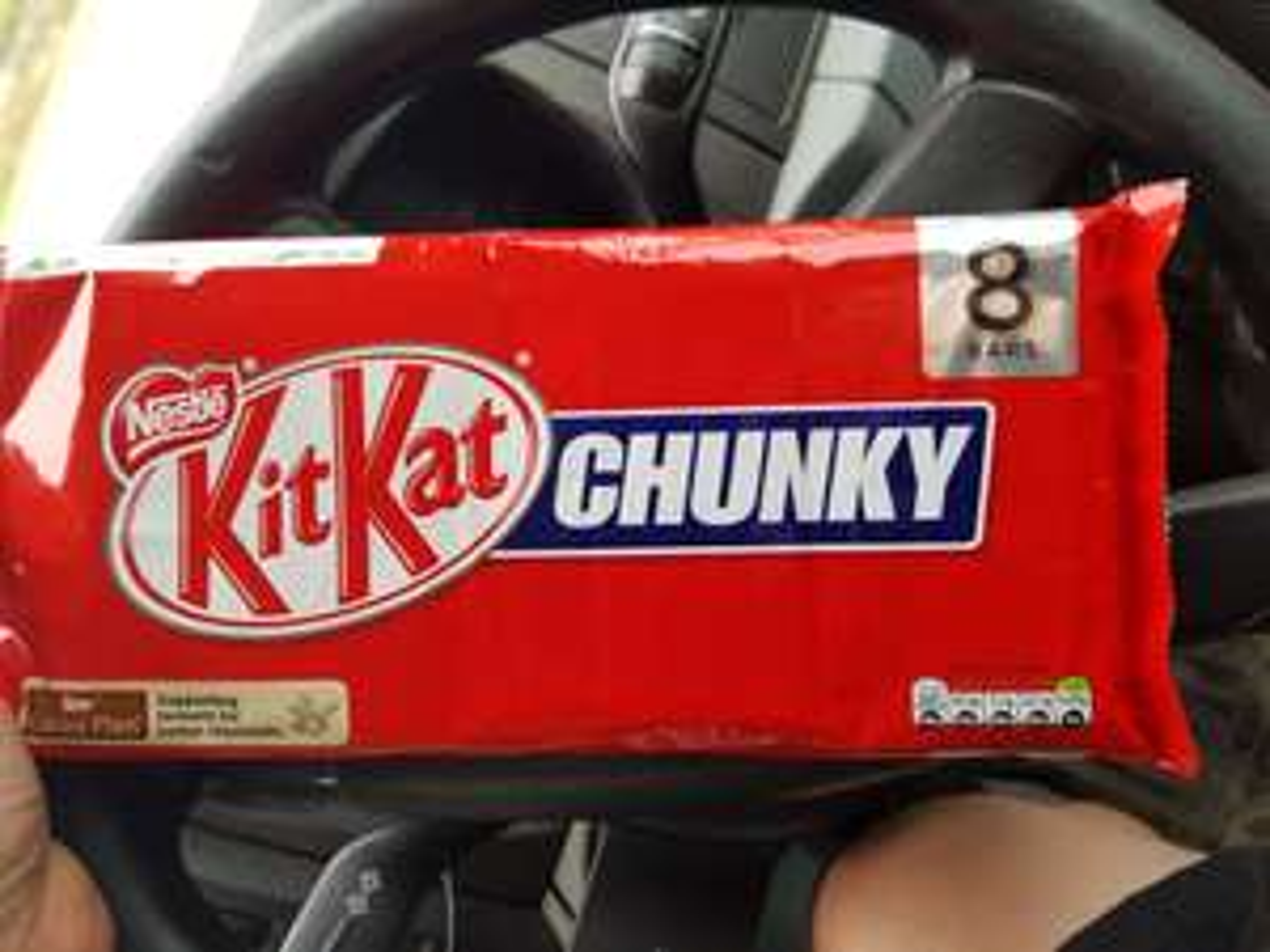 Kit Kat Chunky x8 ASDA £1