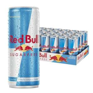 Red Bull Sugarfree Energy Drink, 250 ml, Pack of 24 £14.99 @ Amazon