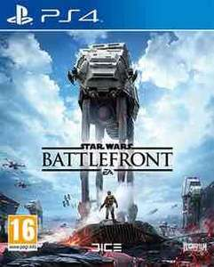 Star Wars Battlefront (PS4) £4.99 preowned / Uncharted 4 (PS4) £14.99 preowned @ GAME