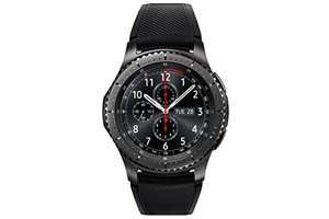 Samsung Gear S3 Frontier Smartwatch - Black/Space Grey £249 (Deal of the day) Sold by Amazon
