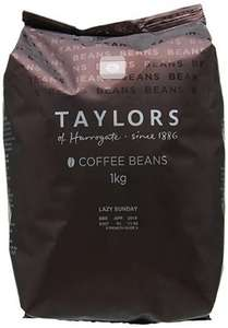 Taylors of Harrogate Lazy Sunday Coffee Beans 2x 1KG bags £16.99 Amazon Prime