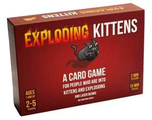 Exploding Kittens - Regular and NSFW versions £14 @ Amazon Prime Day