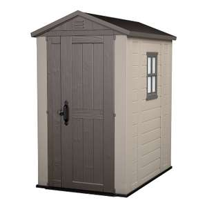 Keter Factor Outdoor Plastic Garden Storage Shed 6ft L by 4ft W £199.99 Del @ Amazon as part of Prime Day