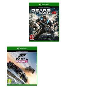 Gears of War 4 + Forza Horizon 3 For Xbox £29.99  @ Amazon