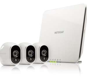 Arlo Smart Home - 3 HD Security Camera Kit, 100% Wire-Free, Indoor/Outdoor with Night Vision by NETGEAR - £224.99 @ Amazon (Prime Day)