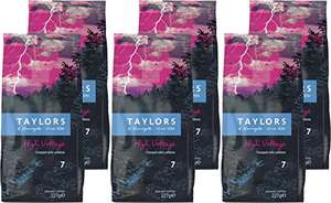 Taylors of Harrogate High Voltage Ground Coffee 227 g (Pack of 6) £9.99 Amazon Prime