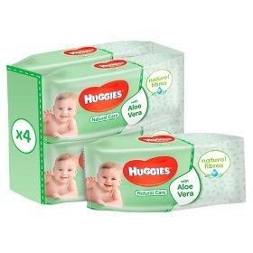 Huggies Natural Care baby wipes quad pack £2.70 ASDA