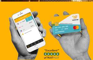 Travel money + free £18 if you add £500 to the prepaid card @ weswap