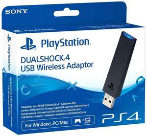PS4 Dualshock USB Wireless Adaptor - £9.85 - Shopto