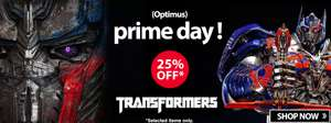 "25% off selected Transformers toys as part of ""Optimus"" Prime Day @ Toys R Us"