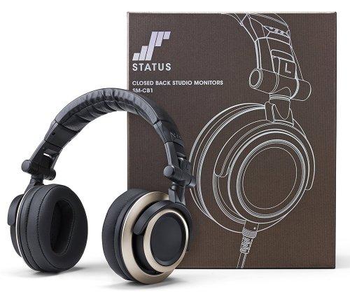 Status Audio CB-1 Closed Back Studio Monitor Headphones - £49 - Sold by Status Audio Headphones and Fulfilled by Amazon