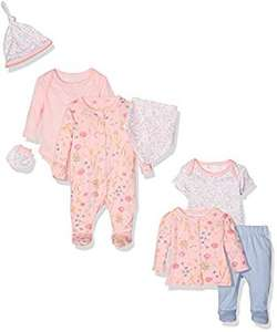 Mothercare Baby Girls'Blooming Farm 8pc Set in sizes Prem - 6mths now from £9.53 - £10 Del as Part of Amazon Prime Day