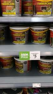 Ronseal 5 Litre fence care £5 in Asda