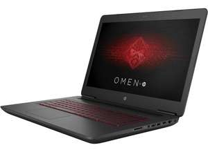 HP Omen 17-w205na Gaming Laptop with GTX 1070, 16GB RAM, Core i7, 1TB HDD + 256GB SSD £1499 @ HP