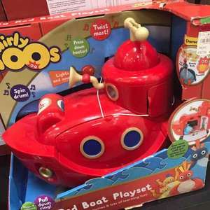 Twirlywoos big red boat Playset £25.00 in store at Debenhams