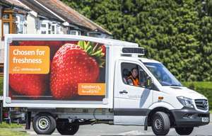 6 month Anytime Delivery Pass just £25 with code @ Sainsbury's