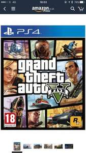 Grand Theft Auto V (PS4) £20.99 @ Amazon Prime Day