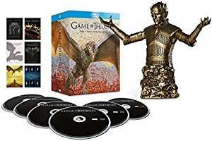 Game of Thrones - Season 1-6 Bronze Bust Edition [Blu-ray] (Exclusive to Amazon.co.uk) [2016] [Region Free] @ £71.99 NEW
