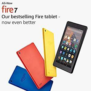 Fire 7 Tablet with Alexa 8GB  £19.99 (Student accounts only) @ Amazon Prime Day deal