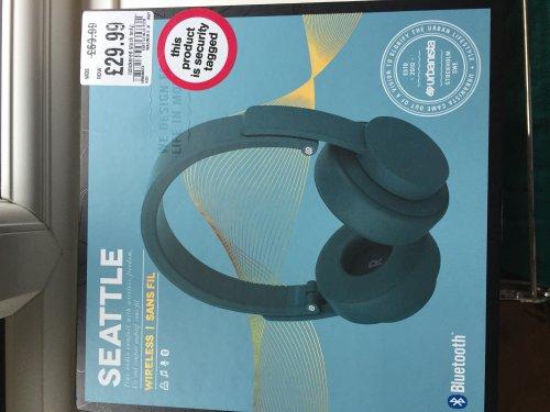 Urbanista Seattle Bluetooth Wireless On-Ear Headphones £30 @ HMV instore