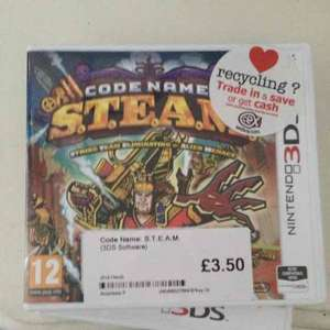 Used Code Name Steam £3.50 CEX instore