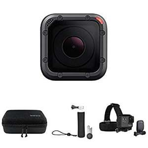 GoPro Hero5 Session Travel Bundle £244.99 @ Amazon - Prime Day Deal