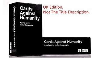 Printable Cards Against Humanity, UK Version.