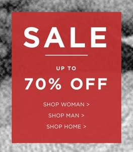 Up to 70% off selected items at French connection