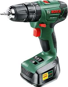 Bosch PSB 1800 LI-2 Cordless Combi Drill with 18 V Lithium-Ion Battery £59.99 at Amazom Prime