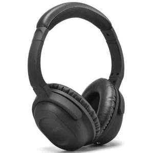 GLITCH EFOSHM Battery Active Noise Cancelling Over-ear Wired Headphones £3.24 Amazon