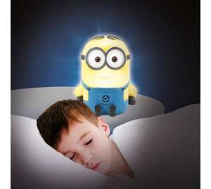 Minions Despicable Me Soft Night Light £1.99 @ Argos - Free C&C