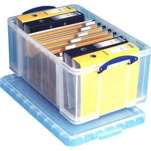 Really Useful Boxes 64L - 4 for £40 inc delivery @ staples