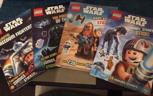 Lego Star Wars activity books 99p instore @ Home Bargains - Warrington