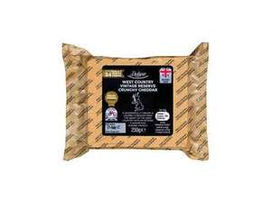 Deluxe West Country Crunchy Cheddar extra mature 320g or vintage reserve 250g - £1.14 this weekend  @ Lidl reduced from £2.29