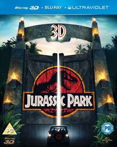 Jurassic Park (3D Edition with 2D Edition + UltraViolet Copy) [Blu-ray] ZOOM £3.99 (w/code)