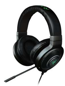 Razer Kraken 7.1 Chroma Gaming Headset with Sound and USB Gaming Headset (7.1 Surround Sound with Retractable Digital Microphone and Chroma Lighting) £59.98 @ eBuyer