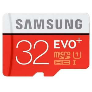 Samsung 32GB EVO Plus Micro SD Card  (class 10) £9.99 delivered - @ MyMemory