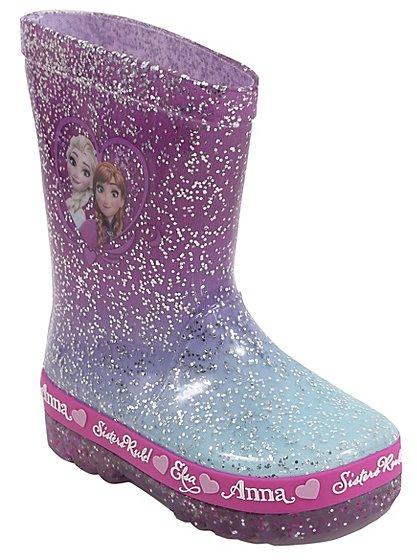 Disney Frozen Light-up Wellington Boots sizes 5 -11 jnr was £12 now £4 C+C @ Asda George