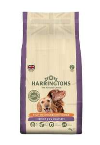 Harrington's dog food Bargains From 54p per Kg @ Amazon Pantry