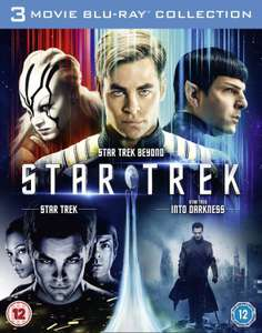 Star Trek/Star Trek Into Darkness/Star Trek Beyond Box Set Blu-ray @ ZOOM £12.00 using code ZD20JULY10